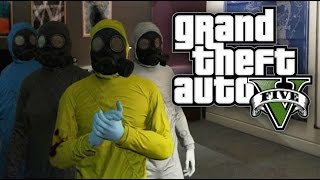 GTA 5 Online HEISTS - The Prison Break Heist (Part 2) - FAKE COPS AND GAS MASKS! (GTA V Online)