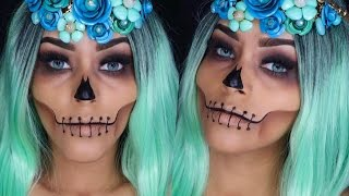 ROSTRO CALAVERICO  HALLOWEEN MAKEUP