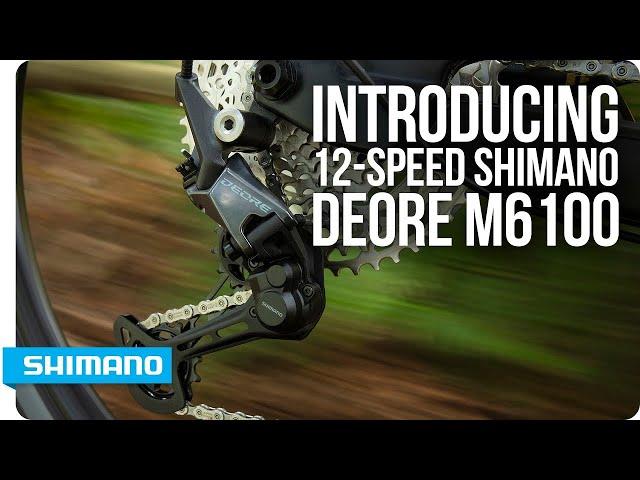 Видео Переключатель правый Shimano Deore SL-M6100-IR I-Spec EV 12-speed черный