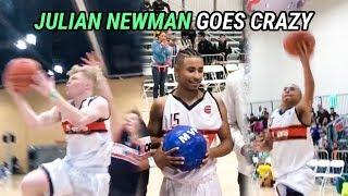 Julian Newman & Tristan Jass SHUT DOWN CELEBRITY GAME! Newman CAN'T MISS & T Jass LAYUP PACKAGE 🔥