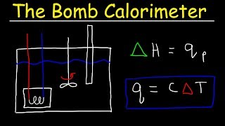 Bomb Calorimeter vs Coffee Cup Calorimeter Problem - Constant Pressure vs Constant Volume Calorimet