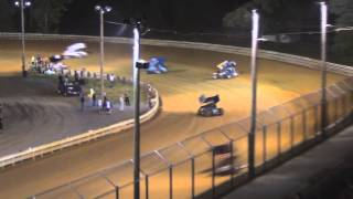 preview picture of video 'Hagerstown Speedway PA Speedweek Highlights 7-02-14'