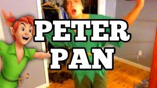 DIY PETER PAN COSTUME