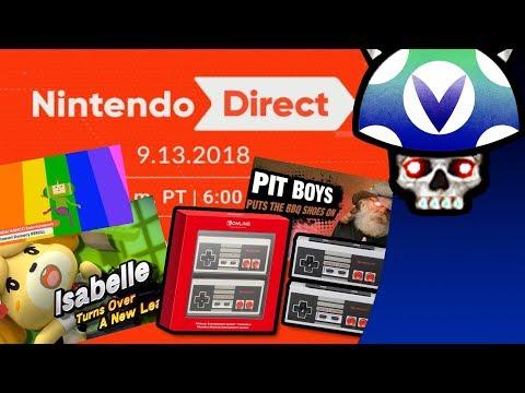 [Vinesauce] Joel - Nintendo Direct 9.13.2018 Reaction & Commentary (видео)