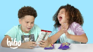 Kids Try Hot Chips | Kids Try | HiHo Kids