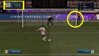 England vs Italy EURO 2020 FINAL Penalty Shootout FIFA 21