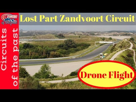 Old Zandvoort Circuit by Drone - Marlboro Corner to Tunnel Oost