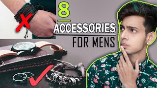 Mens Fashion Accessories You Must Need To Look More Handsome   SAYAN