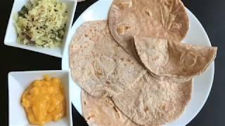 Gluten Free And Grain Free Roti / Chapati (Paleo, AIP, Vegan)