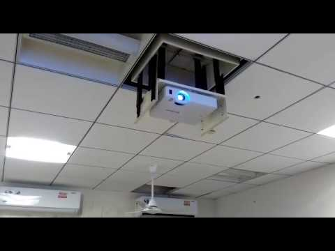 Motorized Cubicle Projector Lift