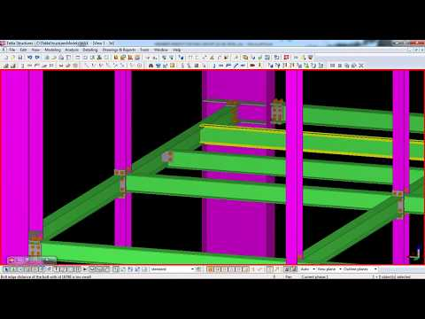 Download Custom Components In Tekla Structures Video 3GP Mp4 FLV HD