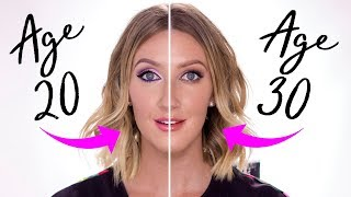 How I Do My Makeup In My 30s Vs My 20s - Adapting Makeup As You Age