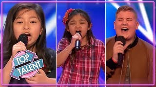 BEST KIDS SINGERS AUDITIONS 2017 ON Britain