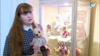 В Детском музейном центре открылась авторская выставка Любови Архиповой «День рождения плюшевого мишки».