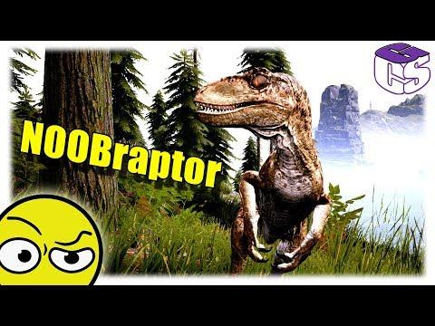 Én a Velociraptor! | The isle