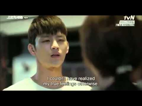 High school king of savvy                   king of high school  min seok  amp  soo young proposal scene