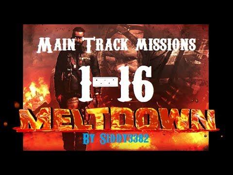 War Commander - Operation: Meltdown Main Track, Missions 1-16