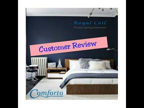 Mr. Venkatesh's Review of Comforto Pocket Spring Mattress