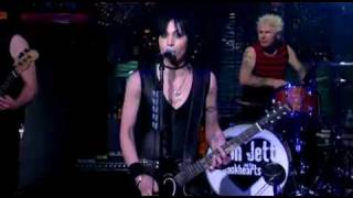 Joan Jett on David Letterman - Bad Reputation