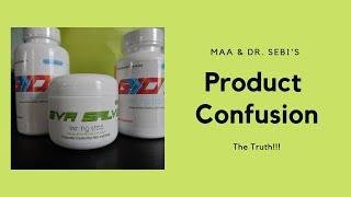 Ma'a And Dr. Sebi's Product Confusion