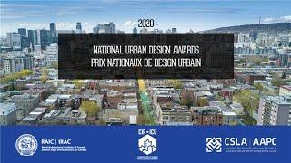 2020 National Urban Design Awards Virtual Ceremony
