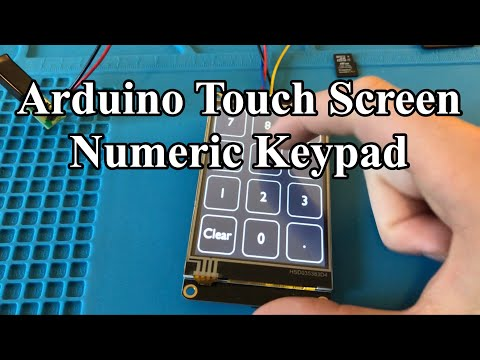 Easy Arduino Touch Screen USB Keypad Tutorial with Nextion