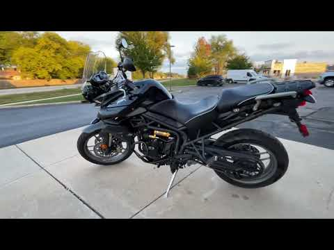 2014 Triumph Tiger 800 ABS in Muskego, Wisconsin - Video 1