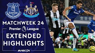 Everton v. Newcastle United | PREMIER LEAGUE HIGHLIGHTS | 1/21/2020 | NBC Sports