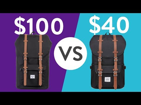 Kaukko vs Herschel backpack comparison - Worth it?