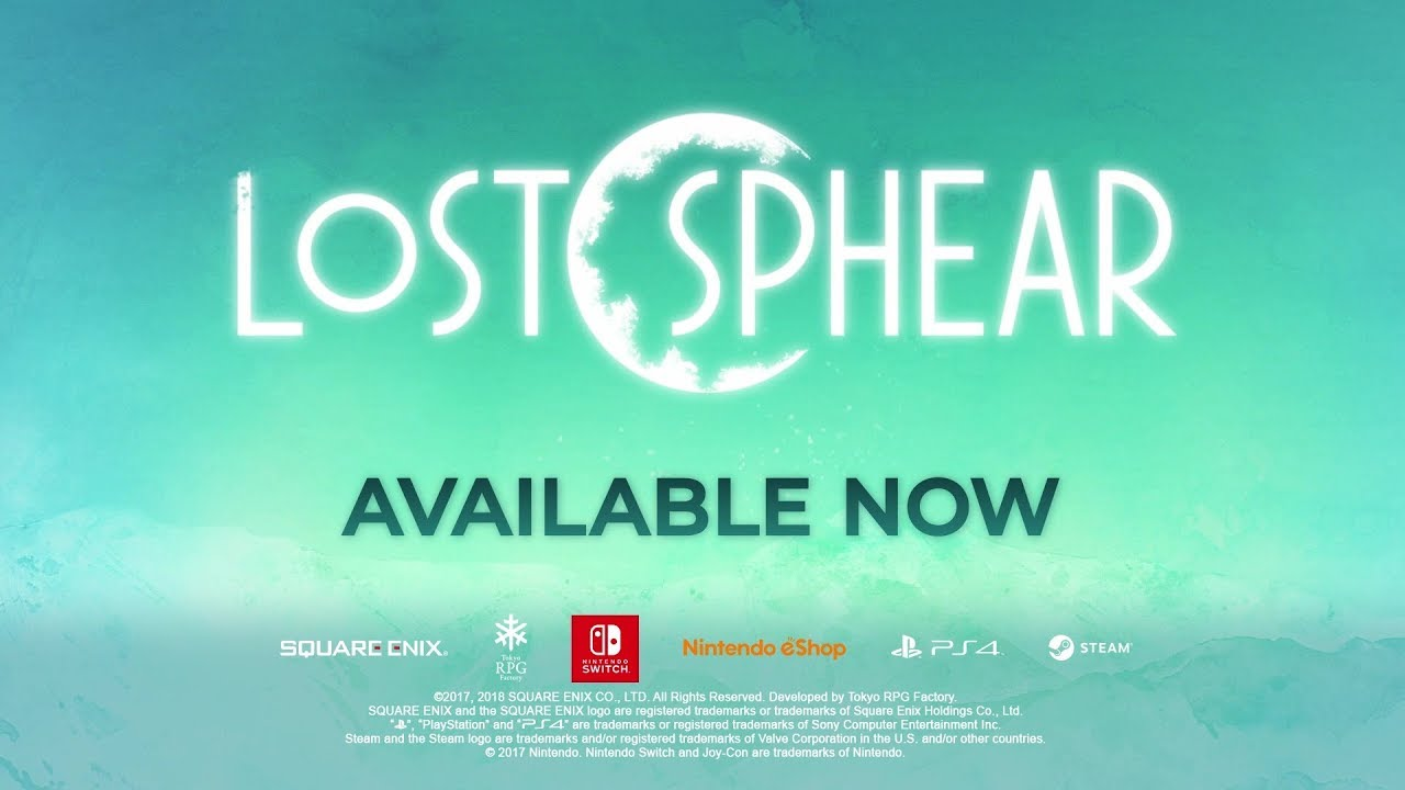 Video LOST SPHEAR [NINTENDO SWITCH]