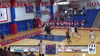 Caston Boys Basketball vs West Central