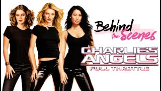 "Working with Lucy Liu on the opening sequence for ""Charlies Angels 2"""