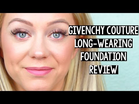 Givenchy Teint Couture Long-Wearing Foundation Review | Oily Skin