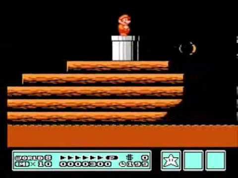 Super Mario Bros. 3 - Low Score Run (660 Points, TAS) (видео)