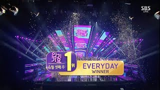 Download WINNER - 'EVERYDAY' 0415 SBS Inkigayo : NO 1 OF THE WEEK MP3