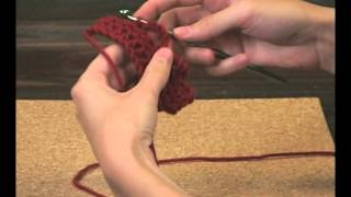 How to crochet a chained buttonhole loop