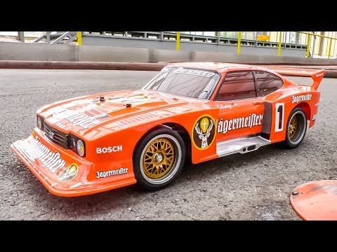 AWESOME RC Car FORD Capri Gets Unboxed And Tested For The First Time!