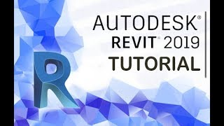 Autodesk Revit 2019 - Tutorial for Beginners [+General Overview]