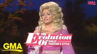 The evolution of Dolly Parton's style | GMA Digital