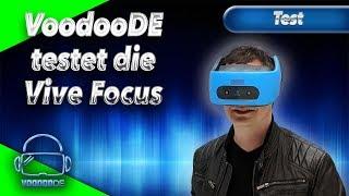 VoodooDE testet die HTC Vive Focus - Wie gut ist das Standalone Headest? [Virtual Reality]