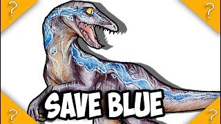 What is BLUE's role in Jurassic World 3 *SPOILERS FOR FALLEN KINGDOM*