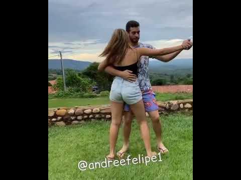 Casal dancando piseiro mc Dany e xand avioes