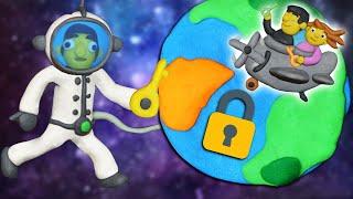 HO PERSO LE CHIAVI PER LA TERRA!!   12 Locks Plasticine Room III
