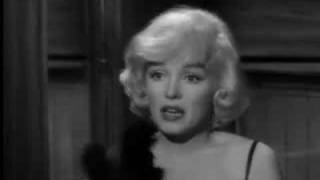 Marilyn Monroe Some Like It Hot Scene