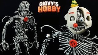 How to make ENNARD ➤ FNAF SISTER LOCATION ★ Polymer clay Tutorial ✔ Giovy Hobby