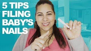 How to file baby's fingernails | 5 Tips