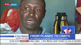 Samuel Mwawato a U.A S Former pilot now a garbage collector