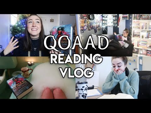 QUEEN OF AIR AND DARKNESS l Reading Vlog.
