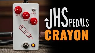 JHS Pedals Crayon Guitar Pedal Demo | CME First Look