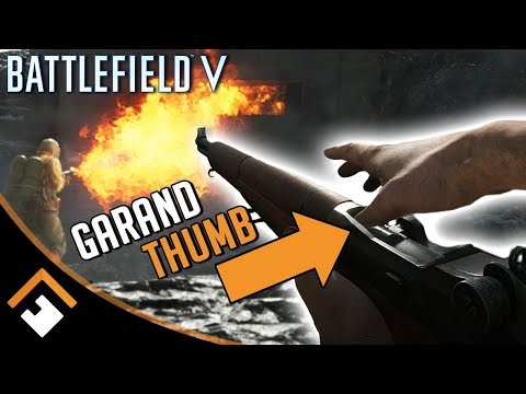 GARAND THUMB? 10 Cool Details in Battlefield V's War in the Pacific DLC